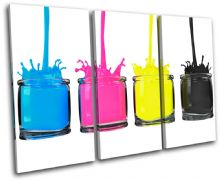 CMYK Paint Pots Abstract - 13-1130(00B)-TR32-LO